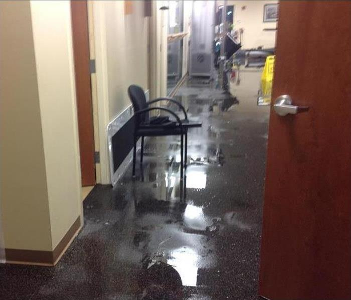 Broken Pipe, Standing Water and Help for a Nashua Business Before